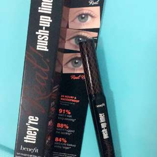 They're Real Push Up Liner   #Brown