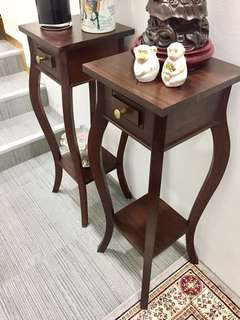 Pair Quality TeakWood Stands