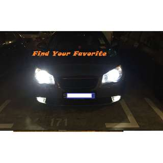 S2 COB Led Headlight Bulb 6500K super white - H4 H7 & H11 - NO INSTALLATION & collect at North-east area