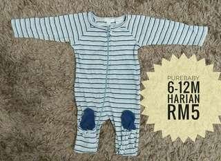 6-12m Baby Sleepsuit