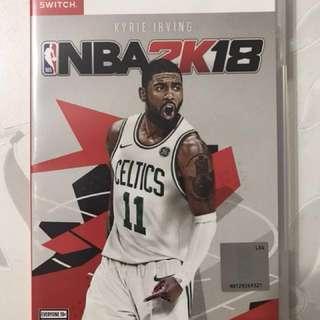 WTS Switch NBA 2K18  @$55