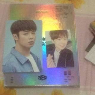 SF9 Breaking Sensation Album + PC