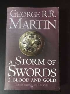 Game of Thrones, Song of ice & fire, Book 3: part 2: A storm of swords: blood and gold