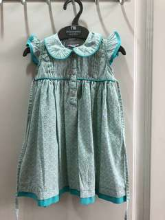 Turquoise dress size 1 & size 5