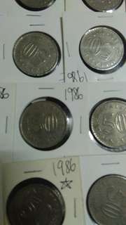 Old Coins 1986