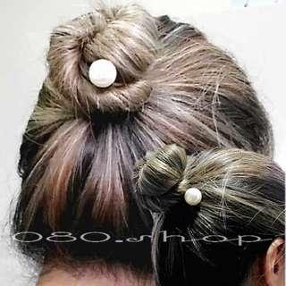 ★珍珠螺旋包頭盤髮器