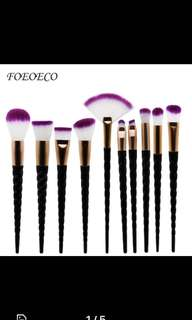 x9 makeup brush set