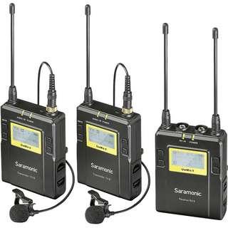 Saramonic UwMic9-TX9+TX9+RX9 Wireless Microphone