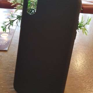 Original Spigen Soft Case for iPhone X (Black)