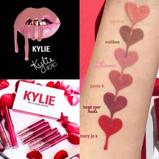 [BN] KYLIE COSMETICS Valentines Day Collection • Mini Matte Liquid Lipstick