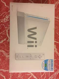Nintendo Wii Console and 9 games