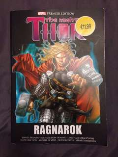 The Mighty Thor Ragnrok Book