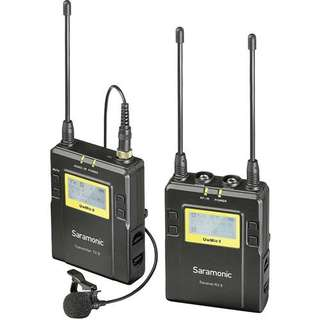 Saramonic UwMic9-TX9+RX9 Wireless Microphone