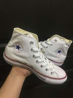 Converse classic white high cut