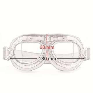 Retro Biker Goggles