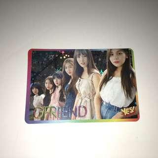 Gfriend Yes!Card 第25期 閃卡