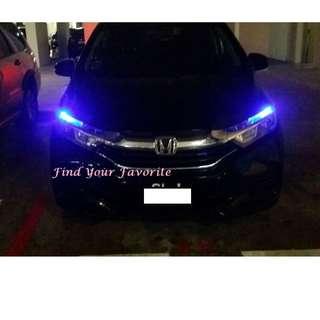 Honda Shuttle (Non-led basic model version) on T10 5630 SMD LEDS project lens on pole light - cash&carry at Punggol