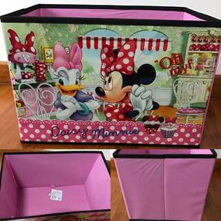 Last SET Left Disney Daisy Duck Minnie Mouse no cover Storage Box
