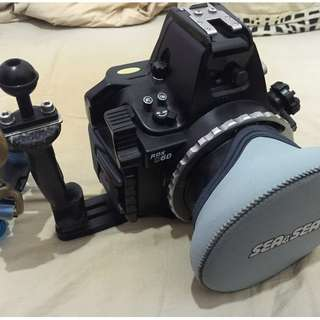 Nikon D40X with Underwater Housing (Sea&Sea RDX-D60)
