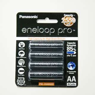 [NEW] Eneloop Pro AA Rechargeable Batteries