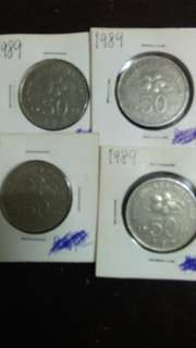 Old Coins 1989