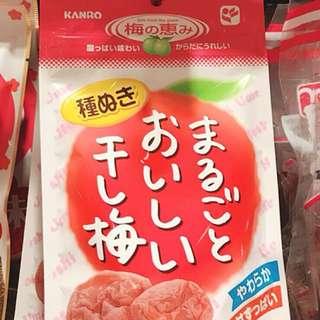 🚚 日本 無籽梅肉 24g 3入