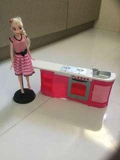 Mattel kitchen