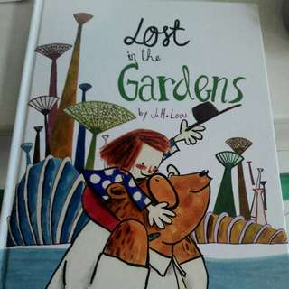 Children's book Lost in the Garden (marshall chavendish)
