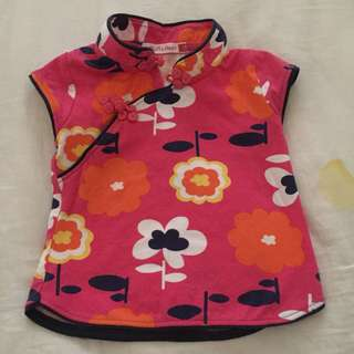 3-6month Cheongsam Top