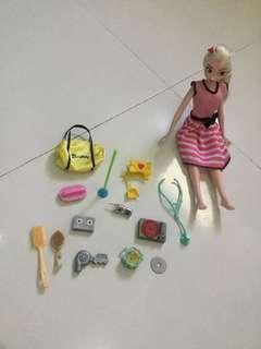 Barbie asstd accessories
