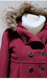 Red Winter Coat from Japan