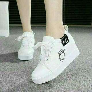 Sepatu boots wanita HI SBO324-putih