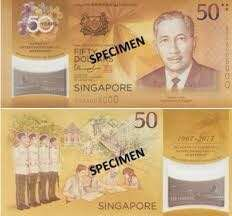Commemorate $50 polymer notes (x2)