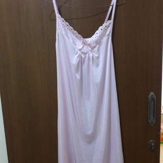 Preloved Lingerie Dress Tidur Seksi Like New Mat Satin Fit to L