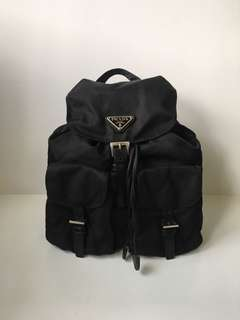 Authentic Prada nylon Tessuto backpack
