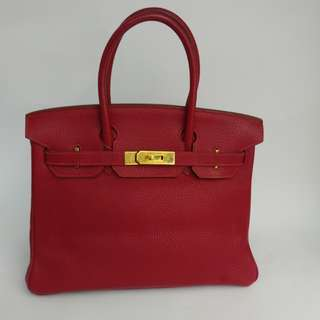 Hermes birkin 30 rough casaque