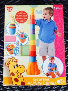 Playgo Giraffe Activity Center