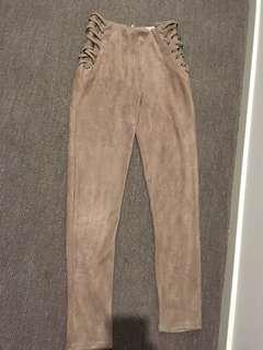 Suede pants paper kits