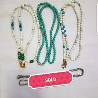 Custom amulet necklaces