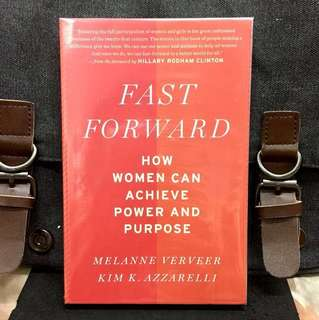 # Highly Recommended《Bran-New + Lessons Learned From World Most Powerful Women》Verveer & Azzarelli - FAST FORWARD : How Women Can Achieve Power and Purpose