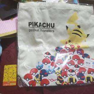 Pokemon比卡超 單肩袋