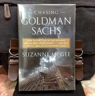 # Highly Recommended《New Book Condition + A Surgical Deconstruction Of Wall Street》Suzanne McGee - CHASING GOLDMAN SACHS : How the Masters of the Universe Melted Wall Street Down...and Why They'll Take Us to the Brink Again