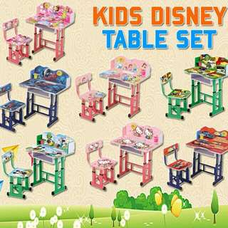 DISNEY KIDS TABLE SET