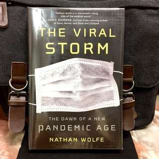 # Highly Recommended 《New Book Condition + Hardcover Edition + Stanford Biologist Reveals Origins Of World's Most Deadly Virus & How To Overcome Catastrophic Pandemics》Nathan Wolfe - THE VIRAL STORM  : The Dawn of a New Pandemic Age