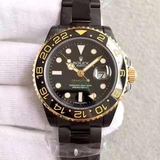 環亞 N廠 ROLEX 勞力士 116710 PVD版 全黑 GMT