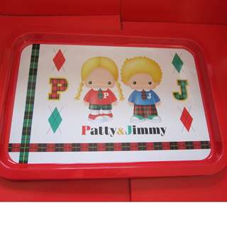 Sanrio Patty&Jimmy 食物盤 1998年