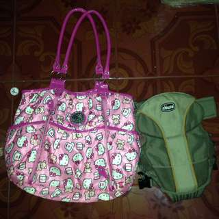 Baby bag and carrier