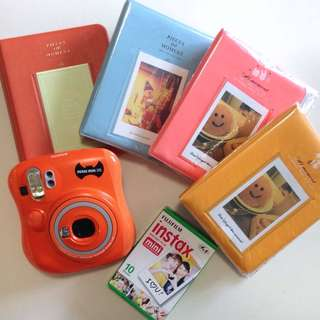 FUJIFILM 25 Instax Mini Camera Set (Halloween Special Edition, Free delivery to WM!)