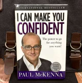 《Bran-New + Hardcover Edition With Guided Hypnosis CD + The Secrets To Mastering Emotion And Feel Stronger In Difficult Situation》Paul McKenna - I CAN MAKE YOU CONFIDENT - The Power to Go for Anything You Want!