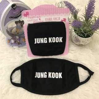 [READY STOCK] BTS - JUNGKOOK FACE MASK